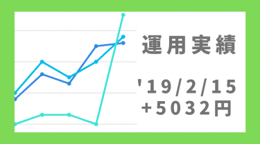 2019/2/15のFX自動売買運用実績は+5032円!Angel Heart Lono & ScalUSDJPY絶好調!
